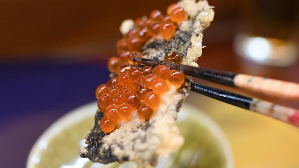 いくら天ぷら箸